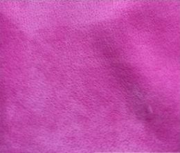 Fuchsia Pink Velour Suede Leather Half Skin